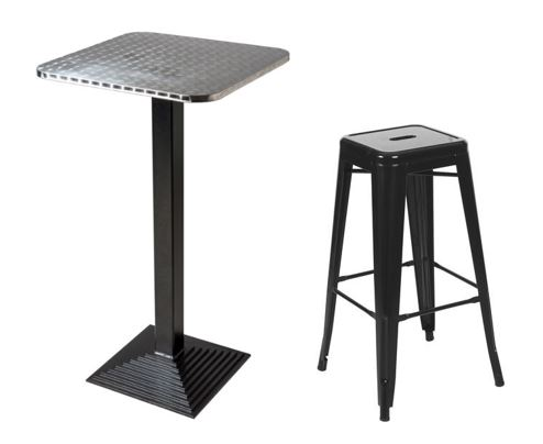 Cast Iron Bar Table Package