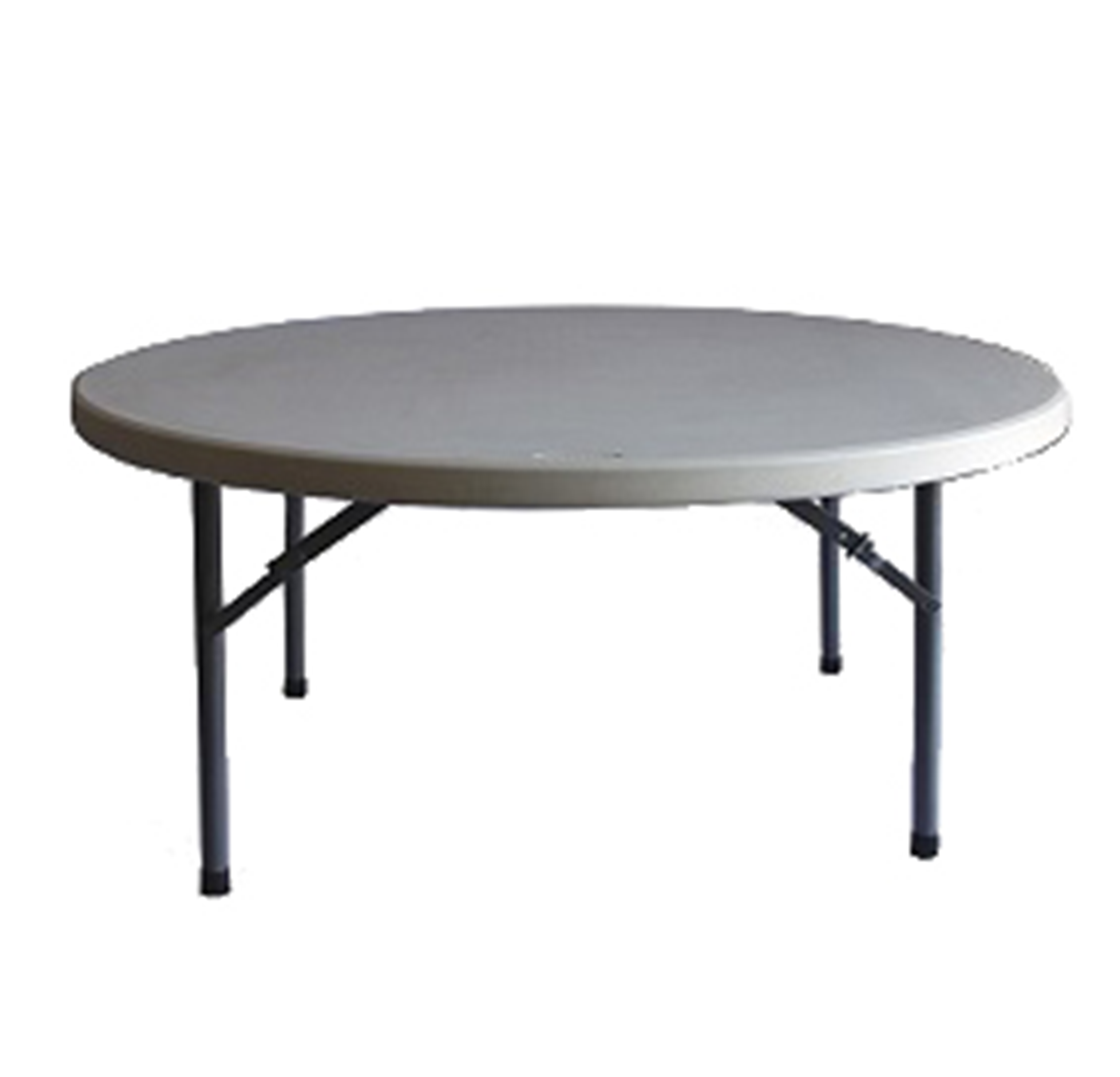 Tables Round 1 8m Round Blow Mould Trestle Table
