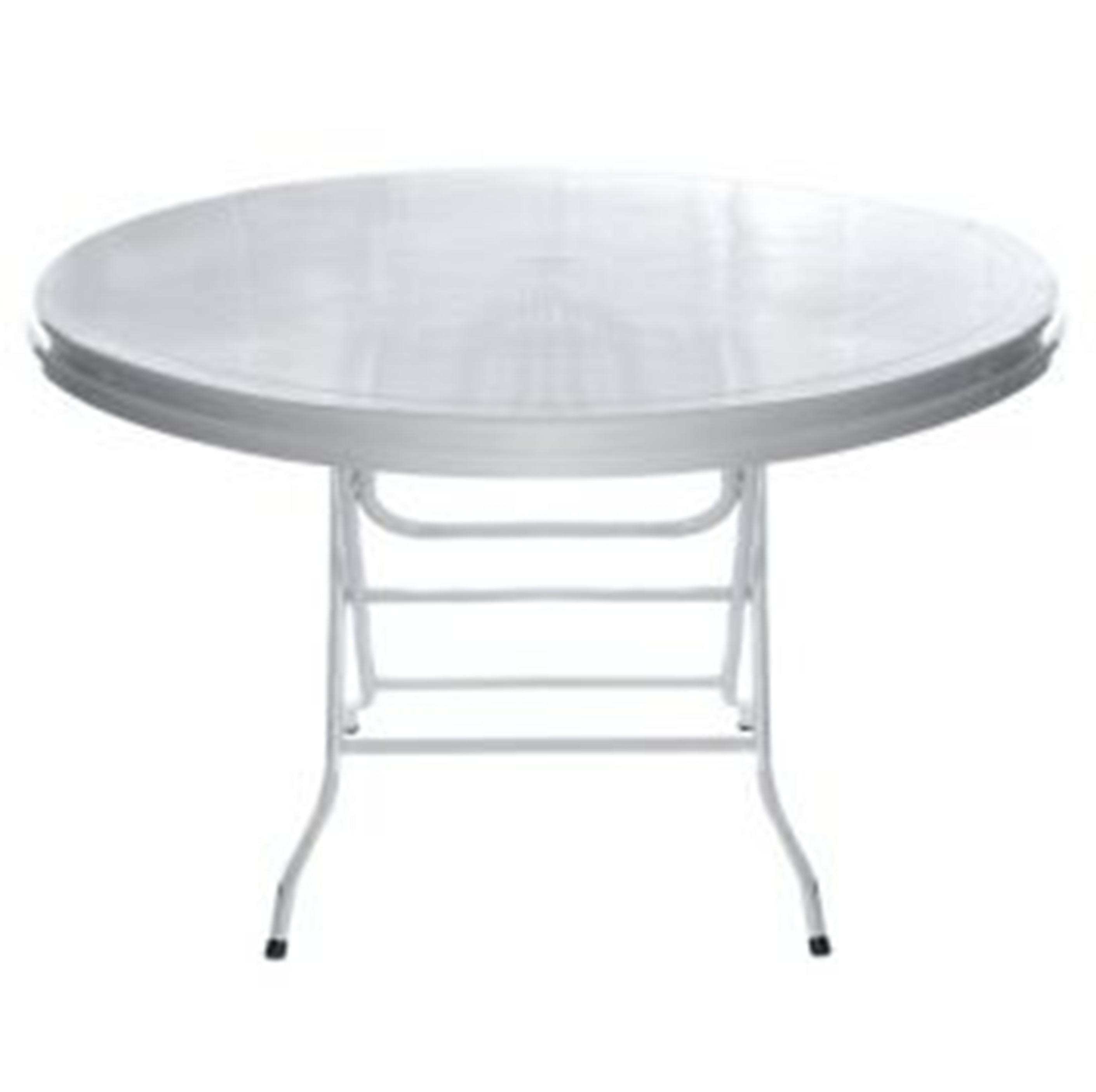 1.2m Round Trestle Table