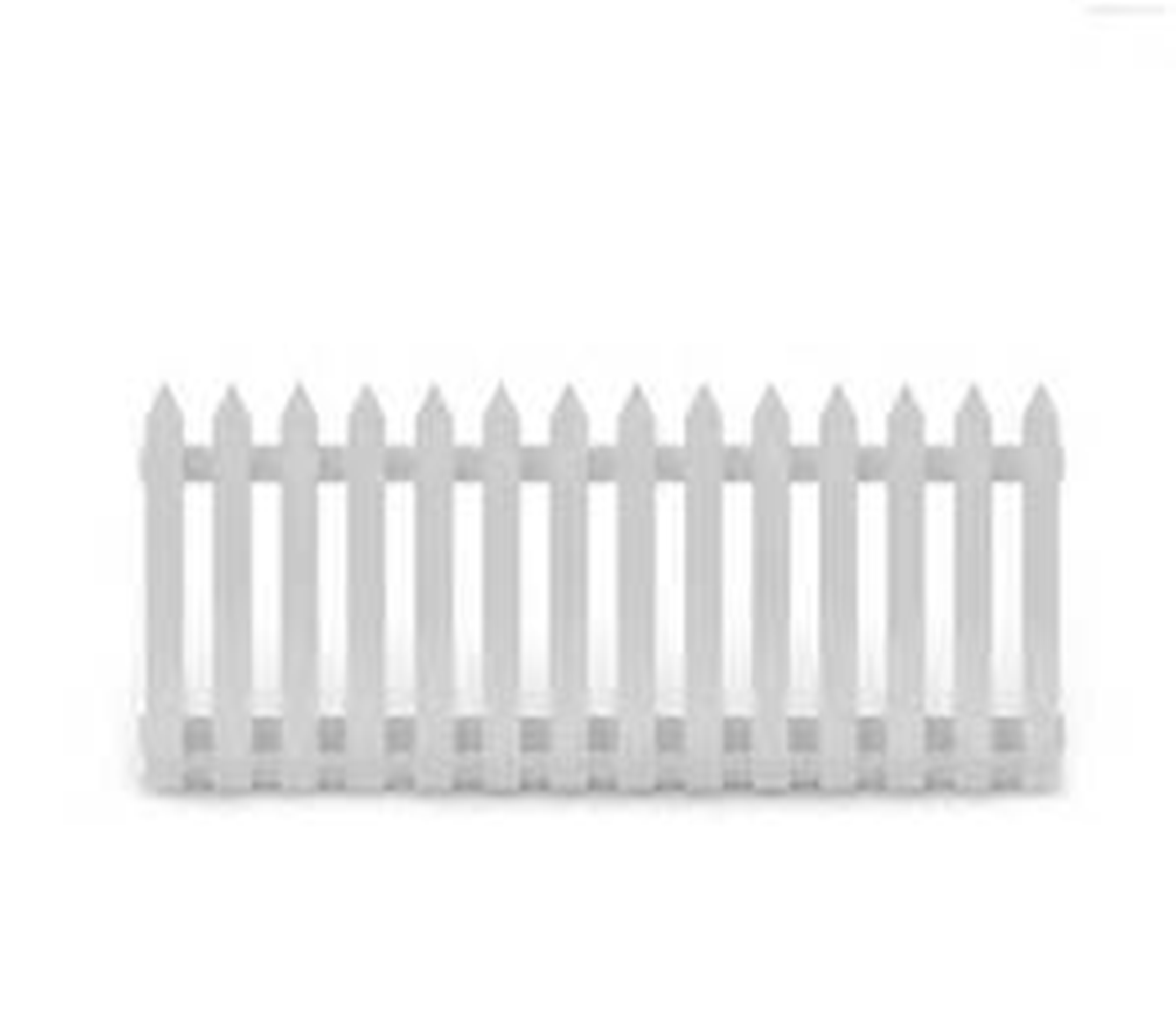 Barriers Amp Fencing White Picket Fence Panelling